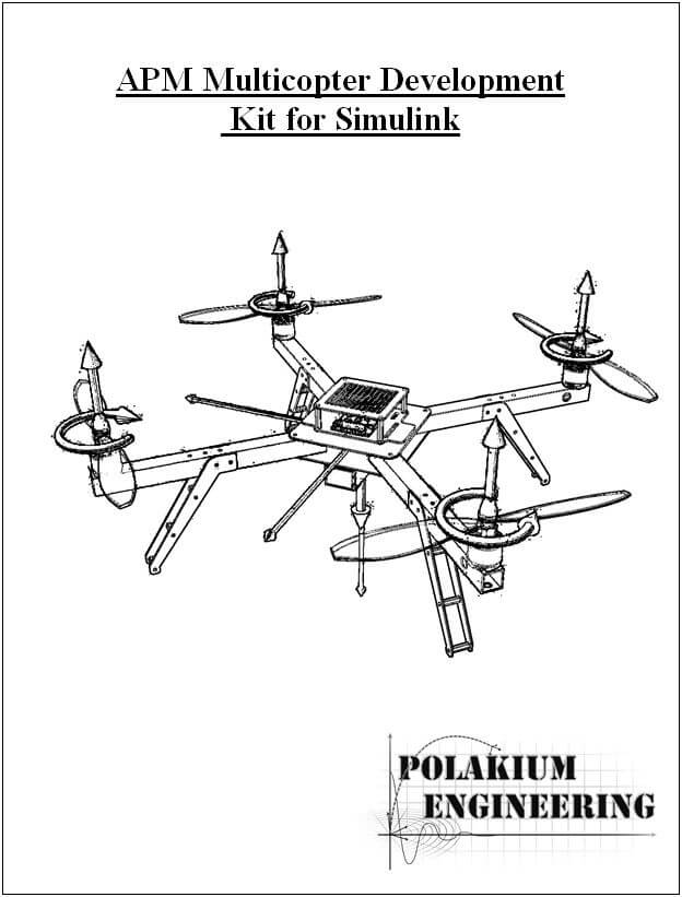 APM Multicopter Development Kit for Simulink